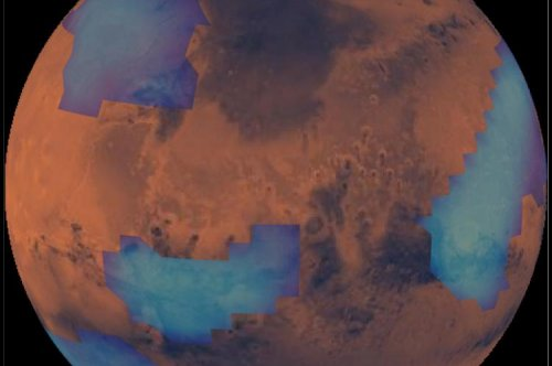 Meteors explain Mars' cloud cover