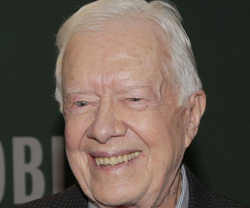 Jimmy Carter makes first public appearance following brain surgery