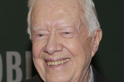 Jimmy Carter makes first public appearance following brain surgery