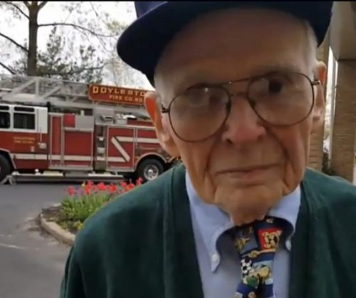 Man celebrates 97th birthday by living firefighter dreams