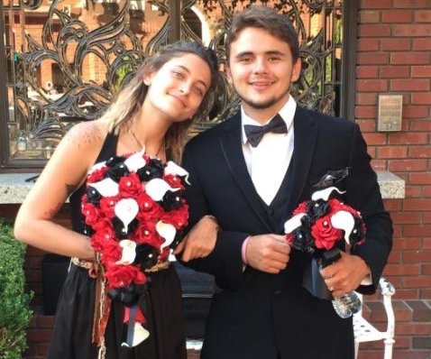 Prince and Paris Jackson attend family wedding in California