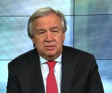 U.N. Secretary General issues worldwide 'red alert' for 2018