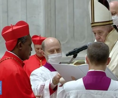 Pope inducts Archbishop Wilton Gregory to College of Cardinals