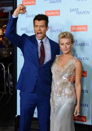 Hough had 102 fever on red carpet