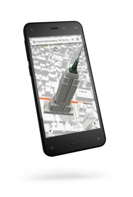 Amazon showcases Fire Phone with 3D views and gesture control