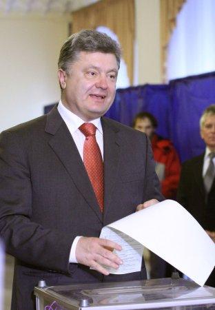 President Poroshenko's party wins parliamentary elections in Ukraine