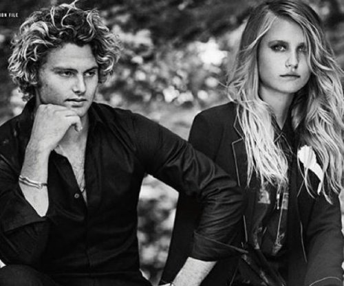 Christie Brinkley's kids model for Town & Country