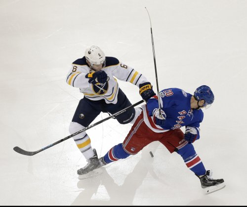 Inspired Buffalo Sabres breeze past New York Rangers