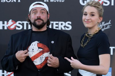 Kevin Smith enjoys Disneyland trip with family following heart attack