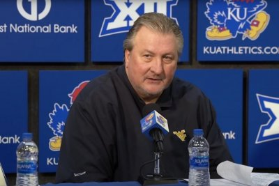 Big 12 fines West Virginia basketball coach Bob Huggins for 'blind mice' ref jab
