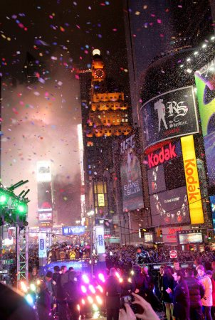 Security high for Times Square ball drop