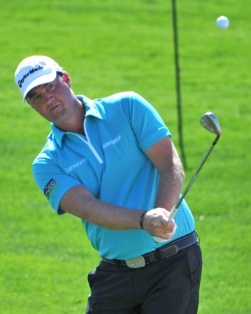 Hanson's 64 has him in 1st at BMW Masters