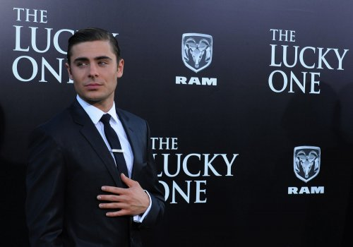 Zac Efron talks training for 'Lucky One' role