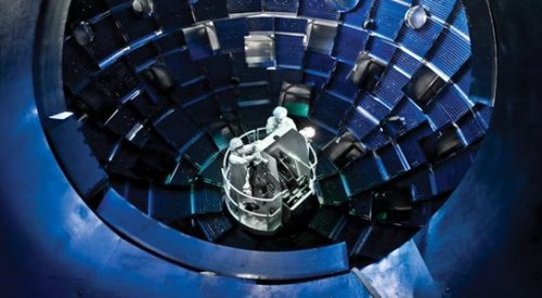 Scientists crush diamond with pressure from world's biggest laser