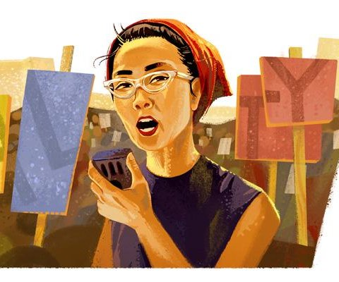 Google celebrates activist Yuri Kochiyama's 95th birthday with Doodle