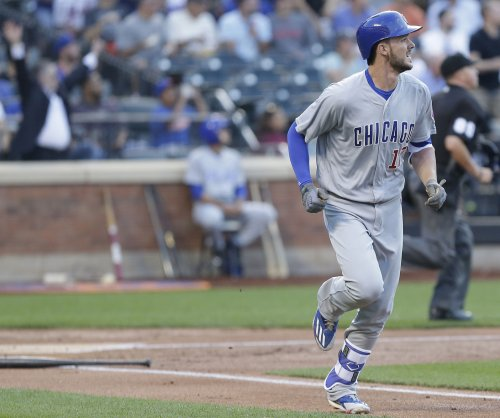 Chicago Cubs' Kris Bryant should be ready to play Tuesday