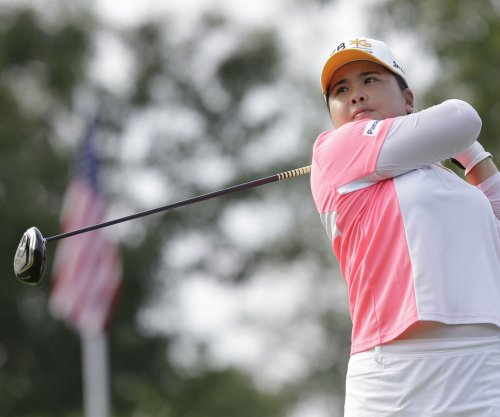 Inbee Park in front after two rounds in Singapore
