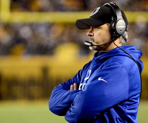 Indianapolis Colts head coach Chuck Pagano sees team making progress
