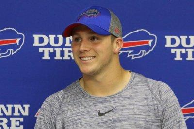 Buffalo Bills rookie QB Josh Allen not feeling pressure