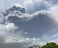 More eruptions likely as Caribbean volcano turns tropics into 'battle zone'