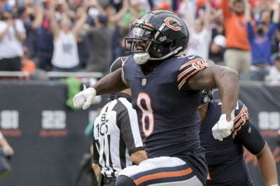 Bears put RB Damien Williams on COVID-19 list ahead of matchup vs. Packers