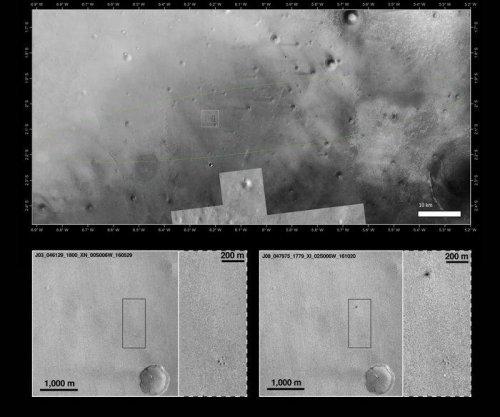 Mars Reconnaissance Orbiter finds Schiaparelli landing site