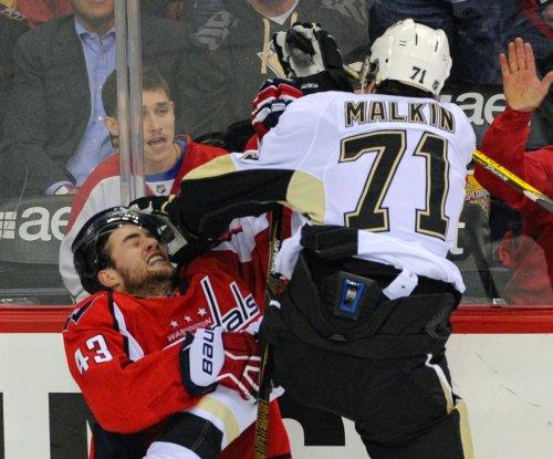Evgeni Malkin logs hat trick as Pittsburgh Penguins top Washington Capitals in OT
