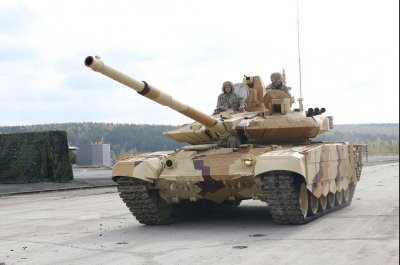 Russia ready to export new T-90 tank variant
