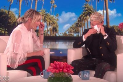 Portia de Rossi brings Ellen DeGeneres to tears with birthday gift