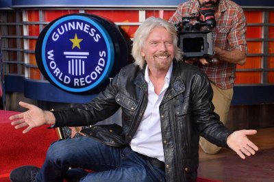 Richard Branson gets star on Hollywood Walk of Fame
