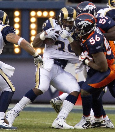 NFL: St. Louis 36, Denver 33
