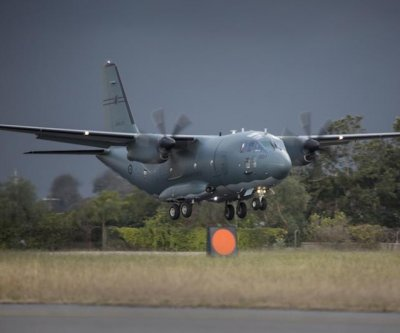 Australian Air Force receives first C-27J transport