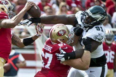 San Francisco 49ers focus on interior of offensive line during organized team activities