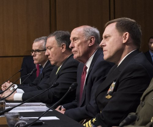 Top U.S. intel chiefs won't say if Trump pressed them to halt Russia probe