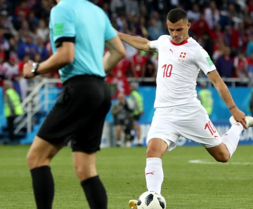 Granit Xhaka: Swiss midfielder rips deep screamer vs. Serbia at World Cup