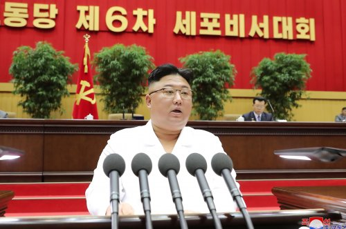 Pro-Pyongyang media denies economic hardship after 'Arduous March' speech