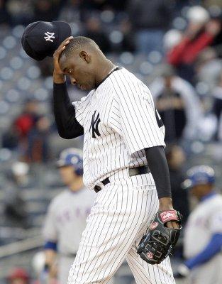 Yankees' Soriano to miss 6-8 weeks