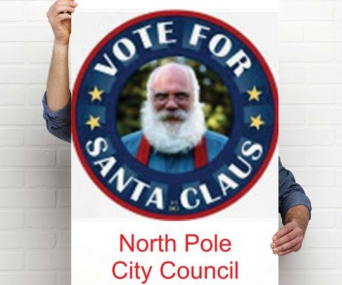 Santa Claus wins seat on North Pole City Council