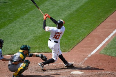 Adam Jones' ninth-inning single lifts Baltimore Orioles past Minnesota Twins