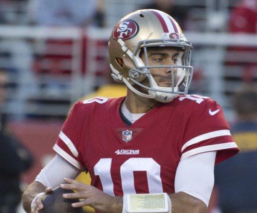 Jimmy Garoppolo, San Francisco 49ers jolt Jacksonville Jaguars to extend win streak