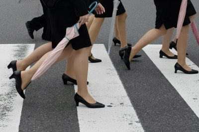 Japan petition asks for ban on high heel requirements in workplace