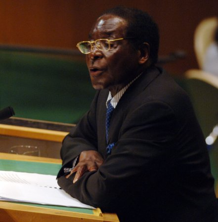 Mugabe warns of possible war in vote flap