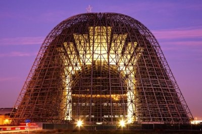 NASA leases historic Hangar One to Google subsidiary