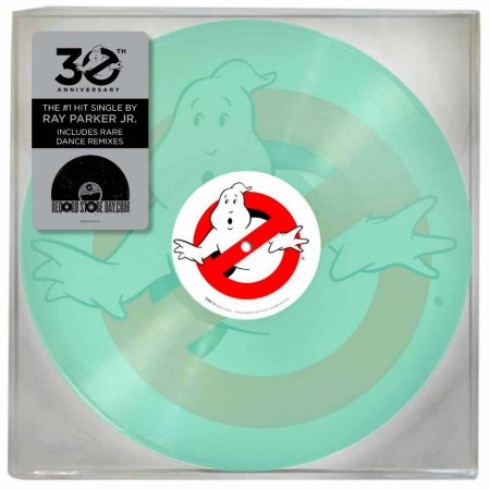 Glow-in-the-dark 'Ghostbusters' theme song vinyl to be released