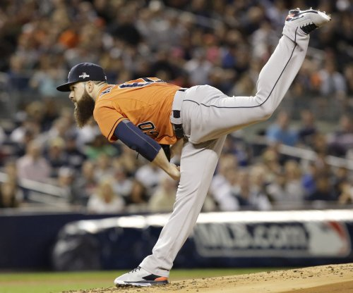 Bad weather delays rematch between Yankees, Astros' pitcher Dallas Keuchel