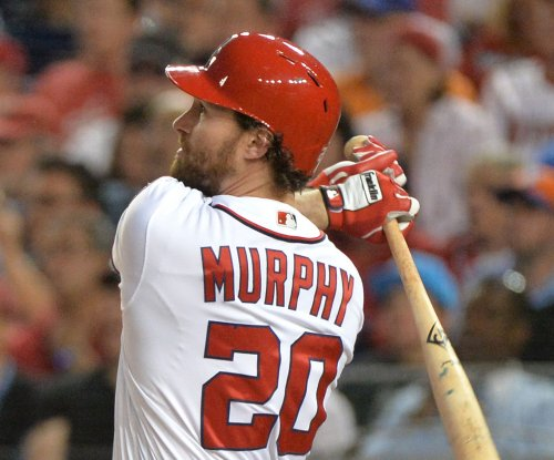 Washington Nationals 2B Daniel Murphy won't start again until postseason