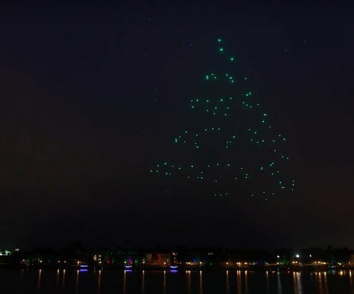 Disney World deploys 300 drones for holiday light show