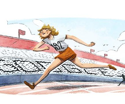 Google honors runner Fanny Blankers-Koen with new Doodle