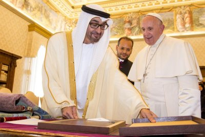 Pope Francis to be first pope to visit UAE