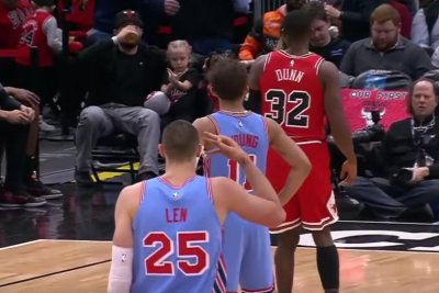 Hawks' Trae Young gets ejected for taunting Bulls' Kris Dunn